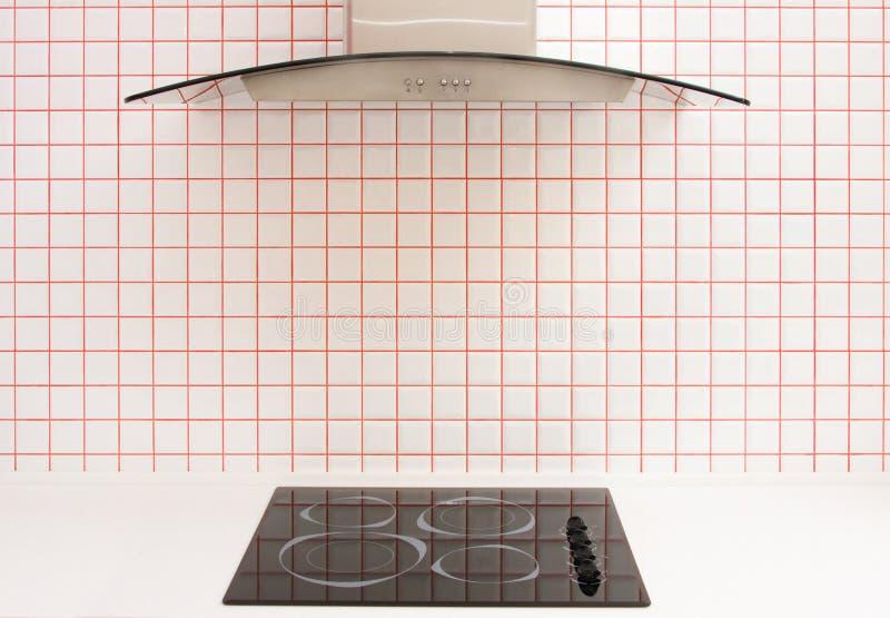 плитка печки керамической кухни малая стоковое изображение
