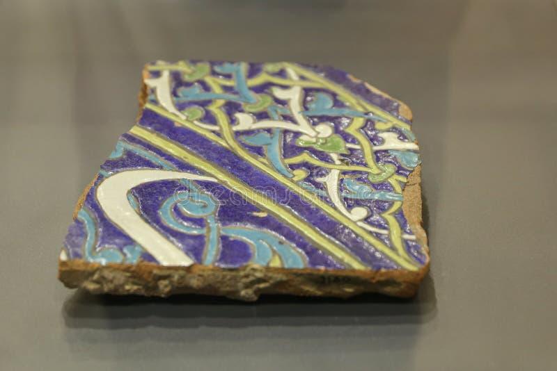 Плитка сини Seljuk стоковая фотография