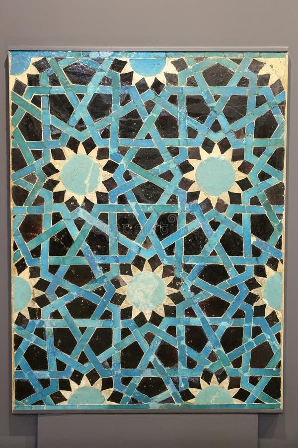 Плитка сини Seljuk стоковые изображения rf