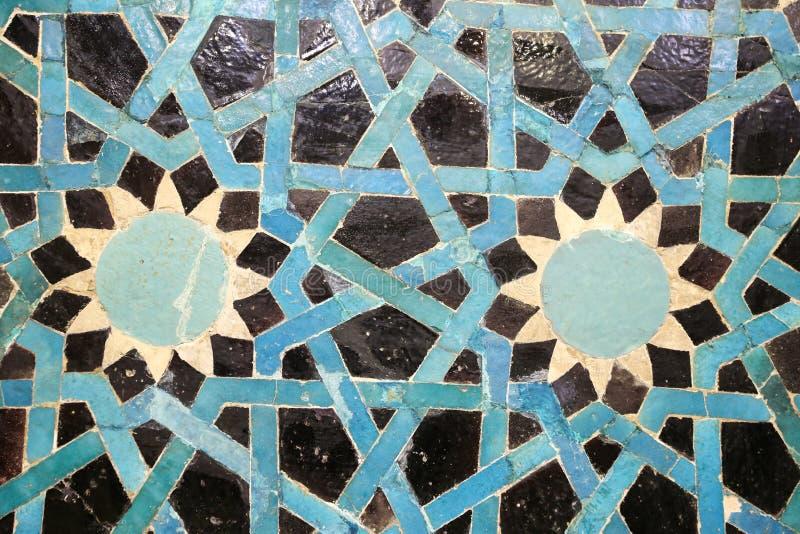 Плитка сини Seljuk стоковое фото rf