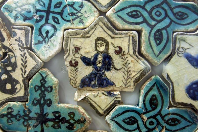 Плитка Seljuk, Турция стоковая фотография rf