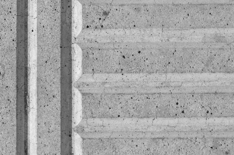 Плитки бетона армированного конца-вверх усильте или поддержка, espec стоковое фото