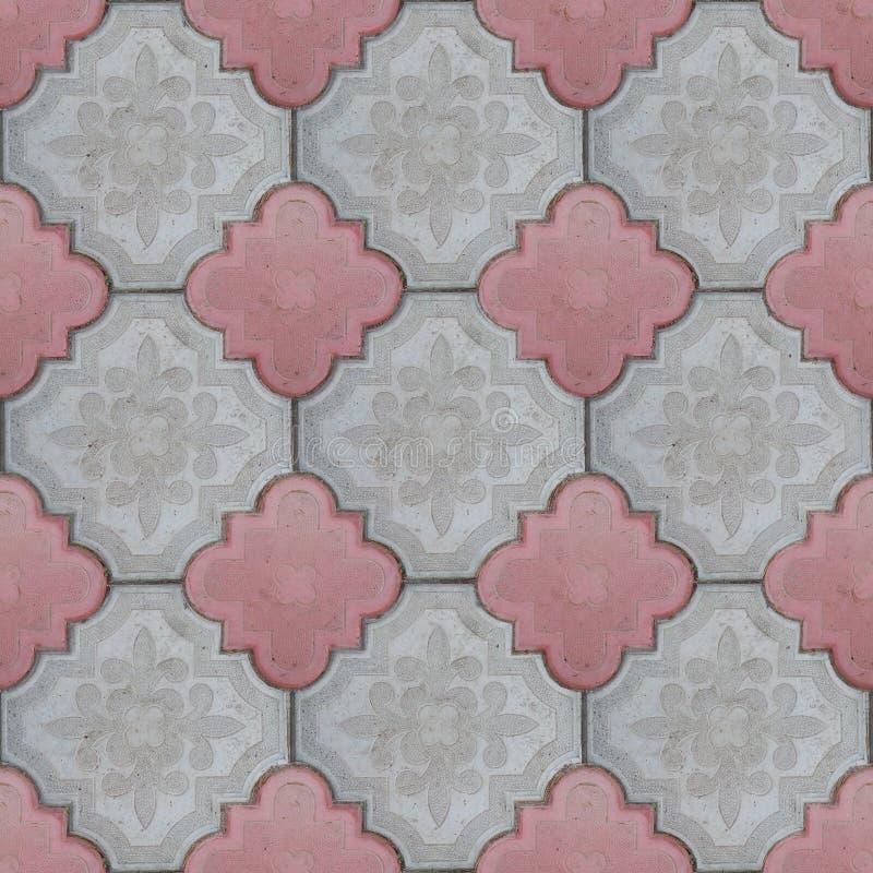 Плитки вымощая сляба текстуры конкретных плиток стоковые фотографии rf