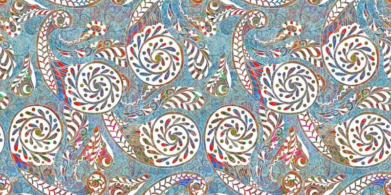 Плитки стены Colorfull цифровые иллюстрация штока