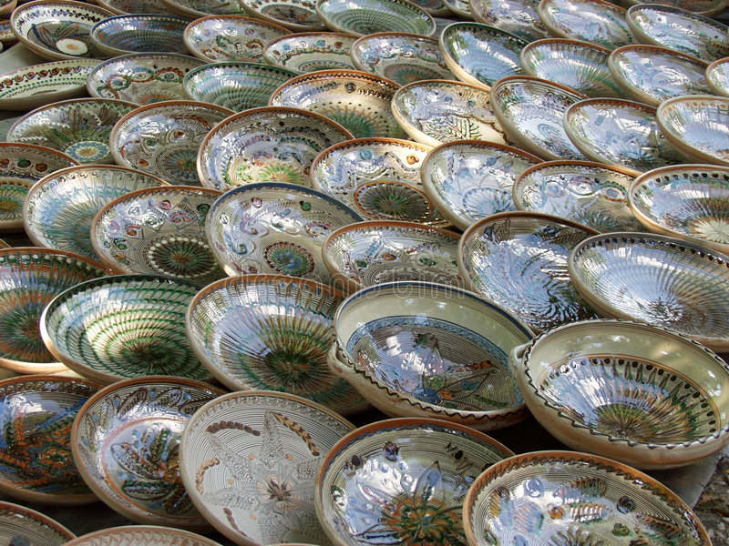 плиты стоковое изображение rf