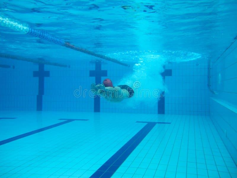 Пловец в comptition стоковая фотография rf