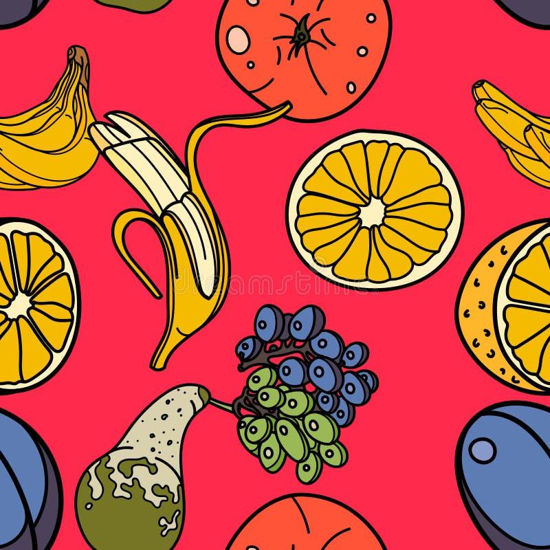 плодоовощи делают по образцу безшовное иллюстрация штока