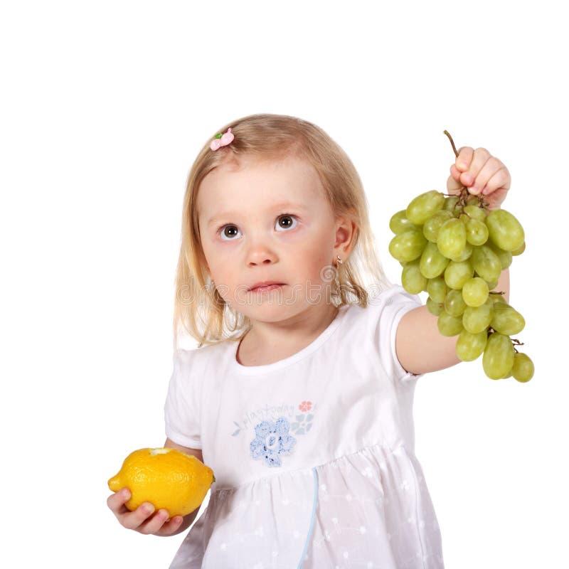 плодоовощи ребенка стоковые изображения rf
