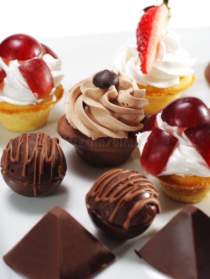 плодоовощ десерта конфеты стоковые фото