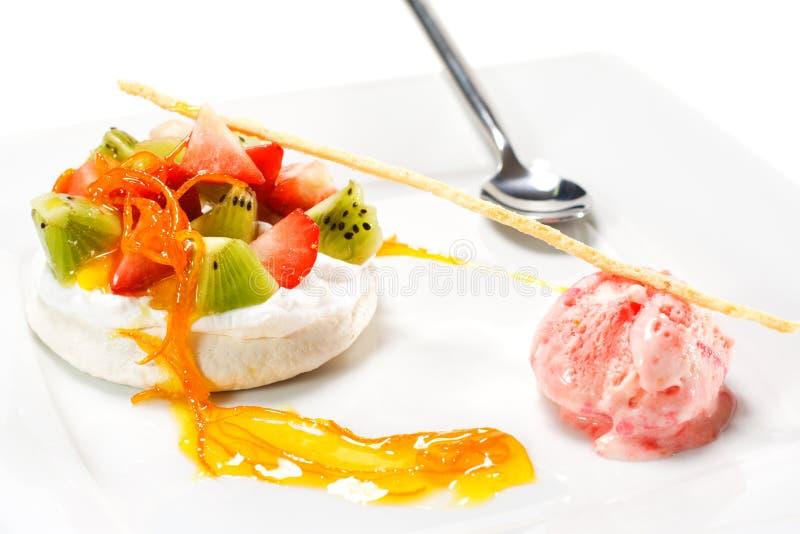 плодоовощ десерта стоковое изображение rf