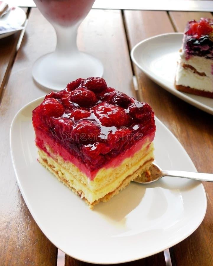 плодоовощ питья тортов стоковое фото