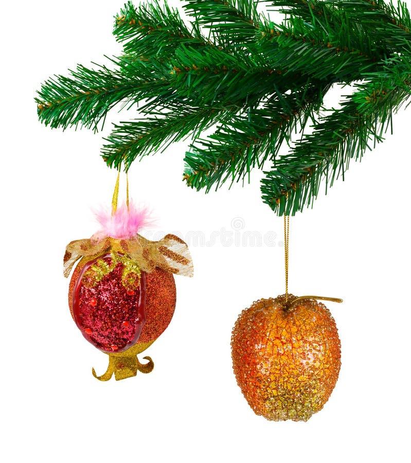 плодоовощ рождества toys вал стоковое изображение rf