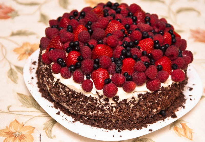 плодоовощ торта стоковое фото