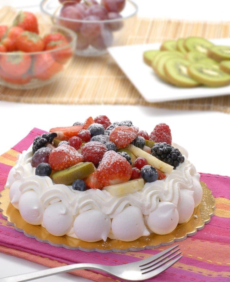 плодоовощ торта стоковая фотография