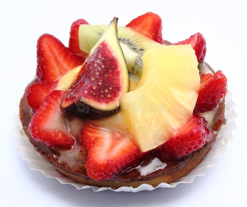 плодоовощ cream десерта стоковое фото