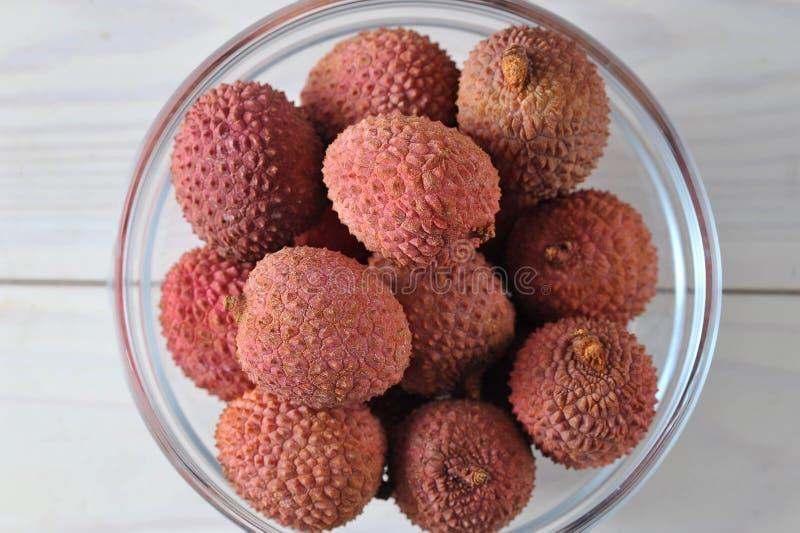 Плодоовощ Litchi вкусный и здоровый стоковые изображения