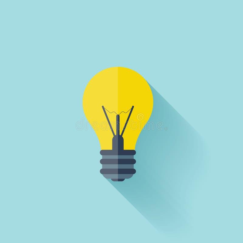 Плоский шарик Предпосылка концепции образования Достижение успеха бесплатная иллюстрация