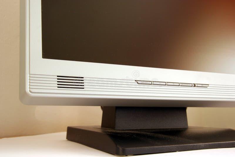 плоский экран монитора стоковые изображения