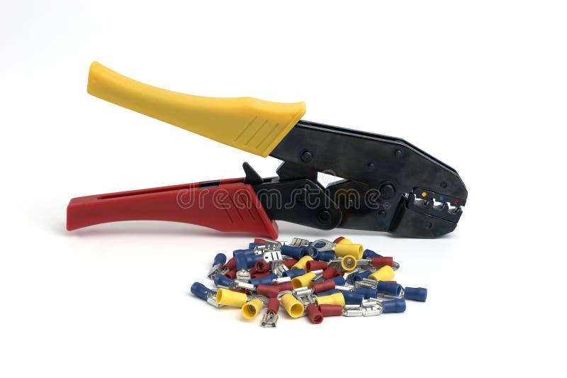 плоскогубцы кабеля стоковые изображения rf