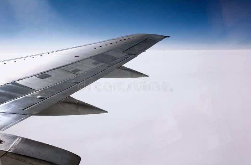 плоское крыло стоковое изображение