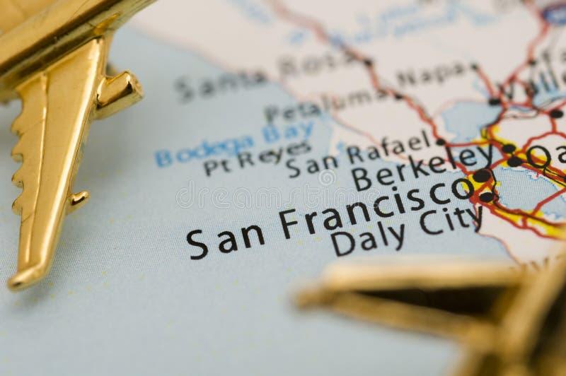 плоскости 3 california золотистые излишек стоковые изображения