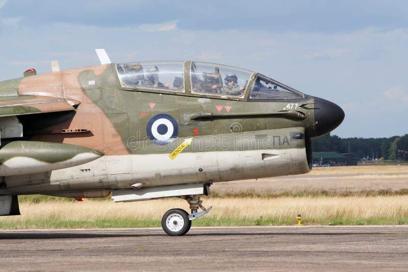 плоскость двигателя Военно-воздушных сил греческая стоковые фотографии rf