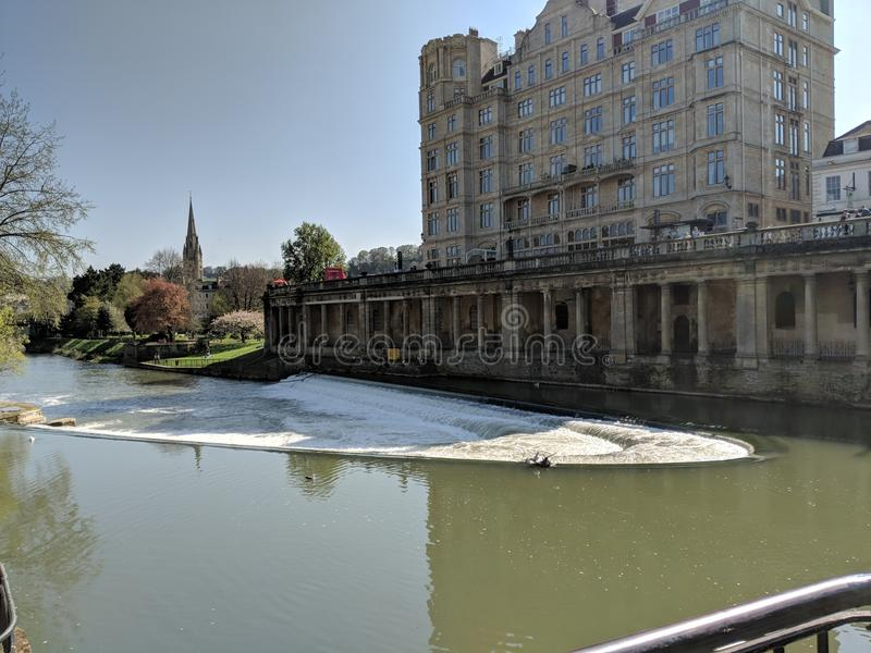 Плотина ванны стоковое фото