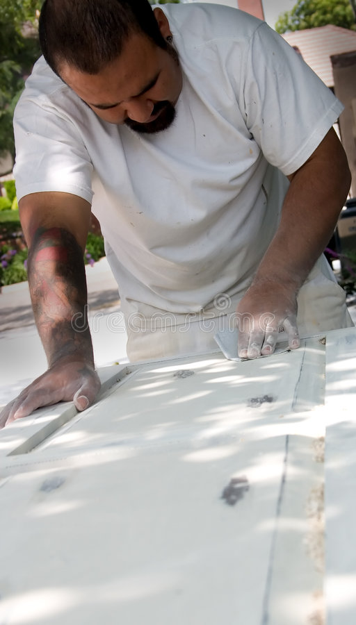 плотник стоковая фотография