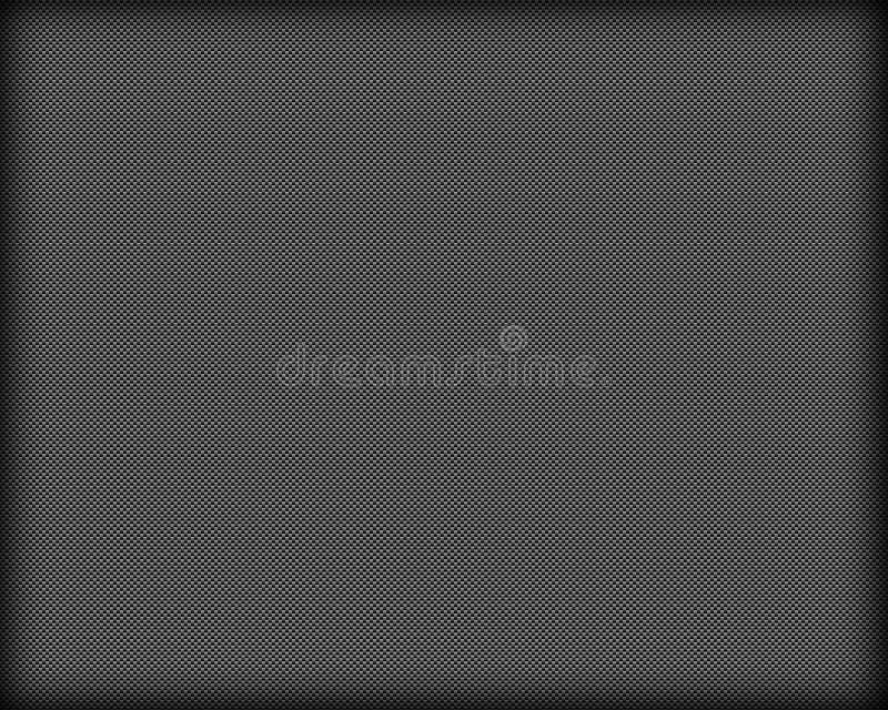 плотно сплетенное волокно углерода иллюстрация вектора
