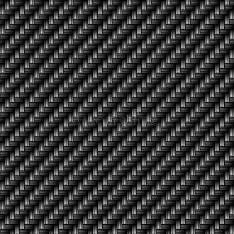плотно сплетенное волокно углерода иллюстрация штока