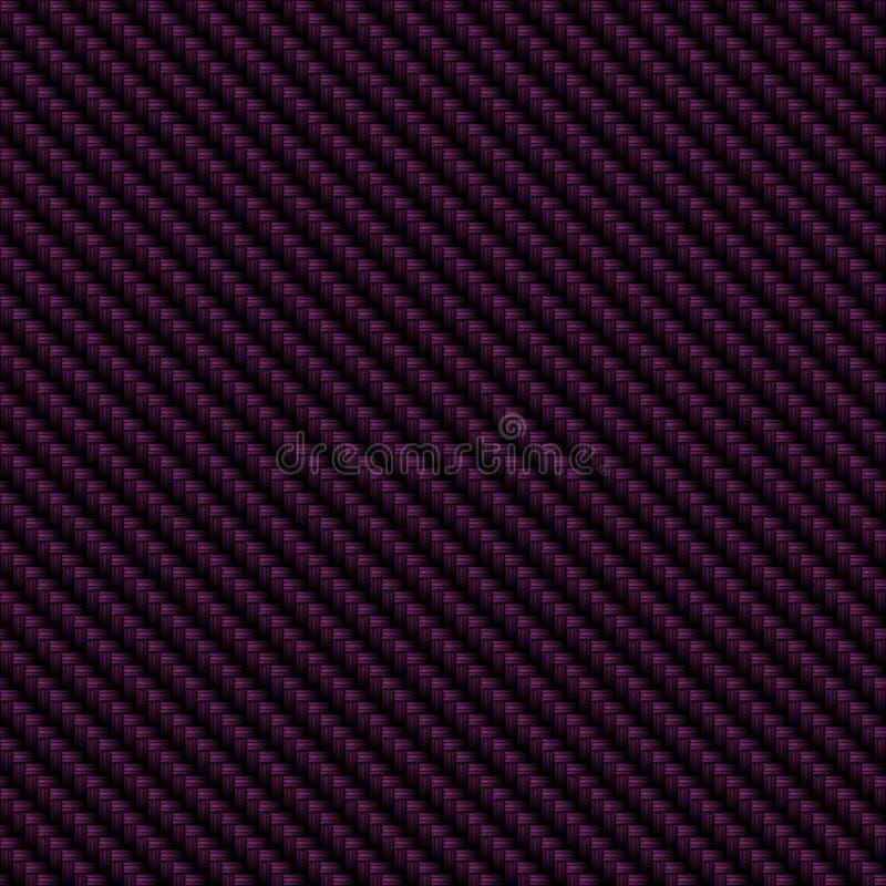 Плотно сплетенное волокно углерода. иллюстрация вектора