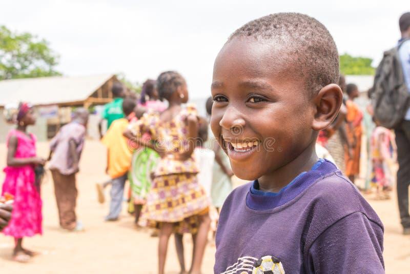 Плохие сельские африканские дети 11 стоковое изображение