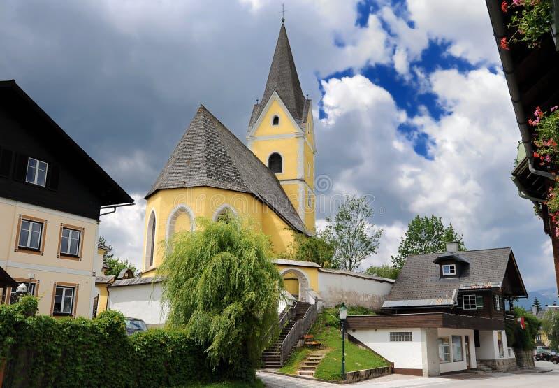 плохое miterndorf церков стоковое изображение rf