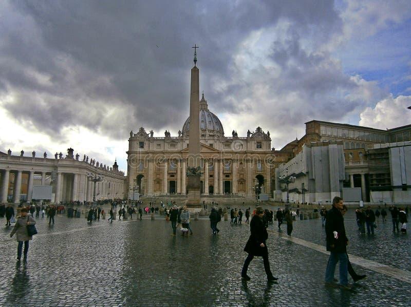 Площадь Ватикана стоковое фото rf