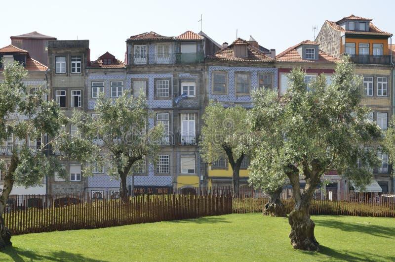 Площадь Лиссабона в Порту стоковые изображения rf