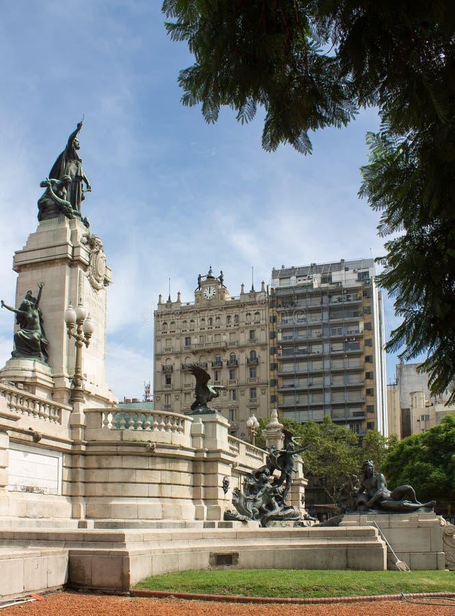 Площадь Buenos Aires съезда стоковые изображения