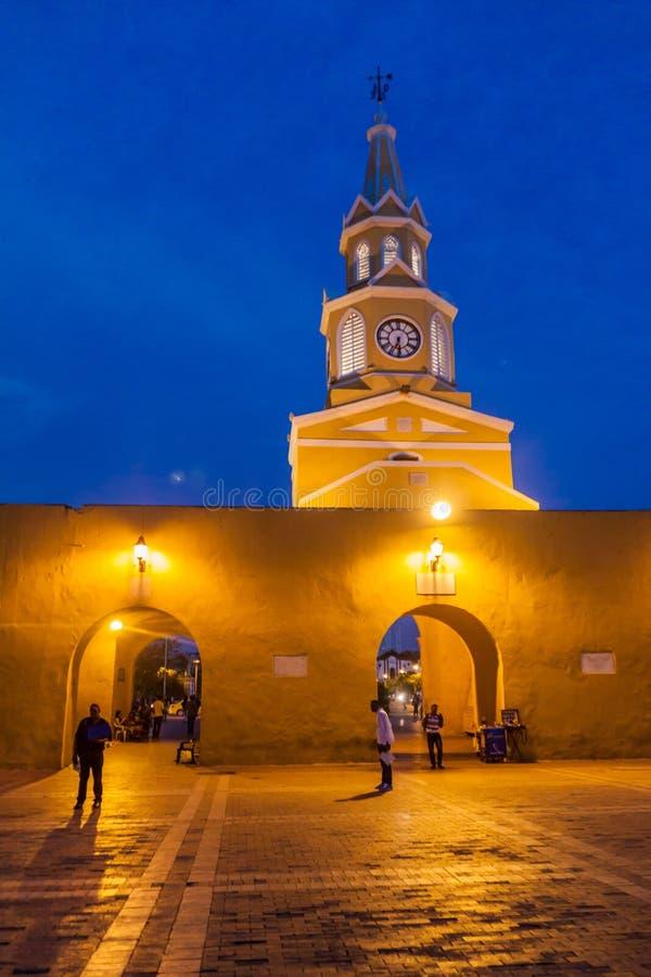 Площадь de los Coches в Cartagena стоковые изображения rf