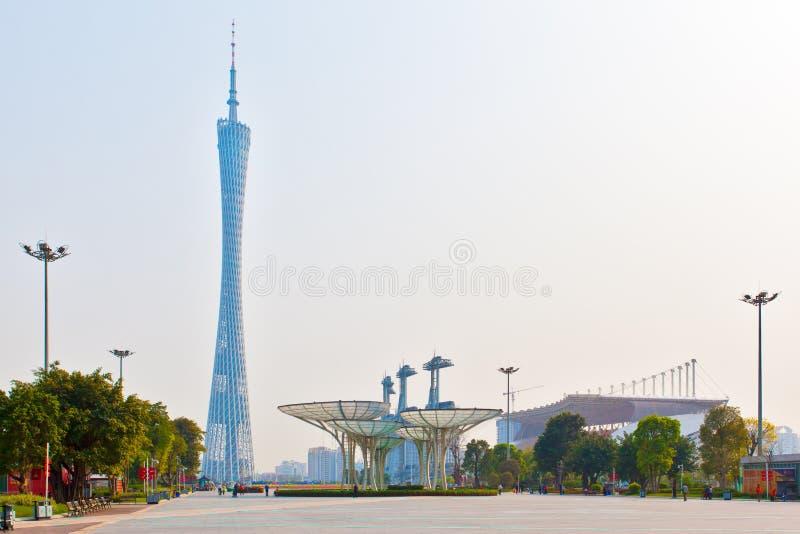площадь guangzhou цветка города стоковые изображения