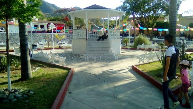 Площадь Oconahua, Халиско стоковые фотографии rf