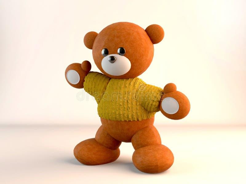 Плюшевый медвежонок стоковые изображения rf