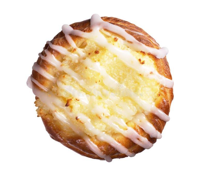 Плюшка с сыром коттеджа стоковые изображения rf