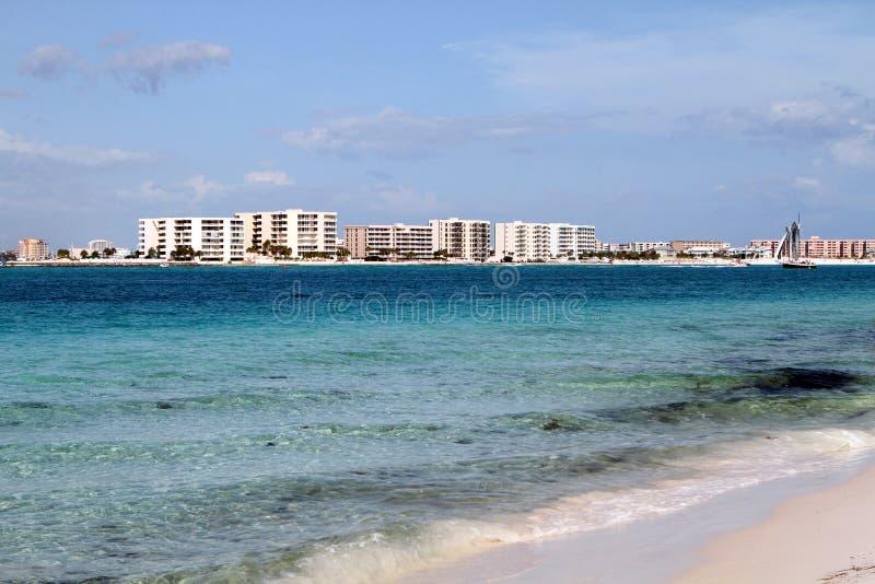 Пляжи Destin стоковые изображения