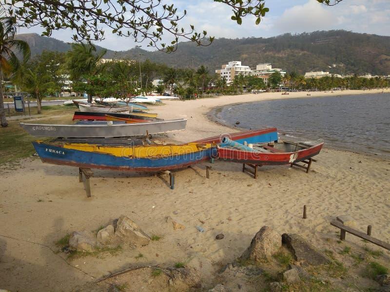 Пляж ³ i Niterà стоковое изображение