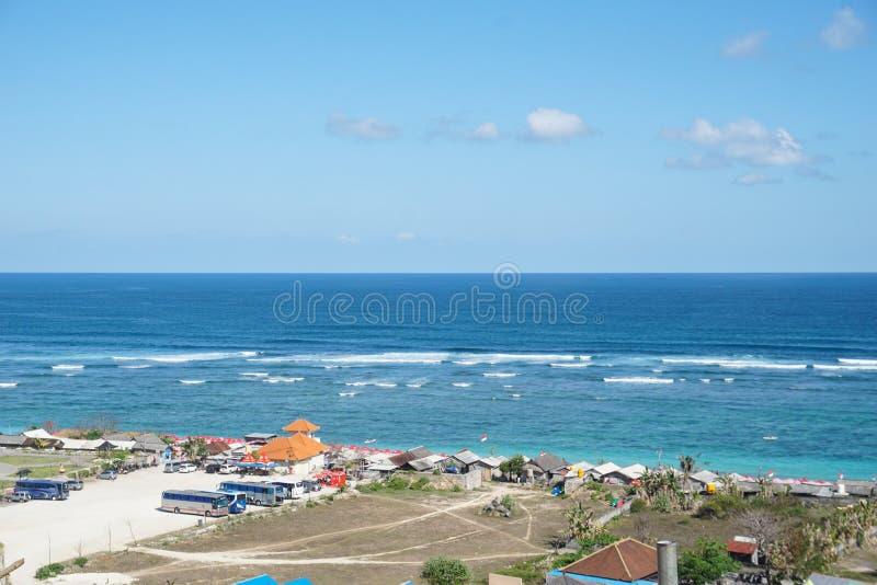 Пляж Бали Индонезия Pandawa, 09 08 2019 стоковая фотография rf