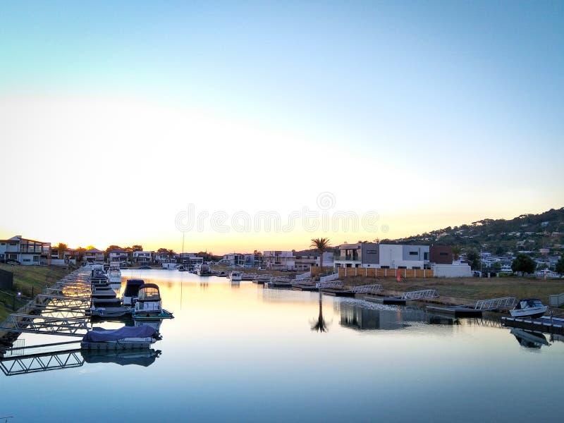 Пляж безопасности Марины бухты Марты стоковые фотографии rf