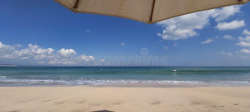 Пляж в Бали стоковое изображение