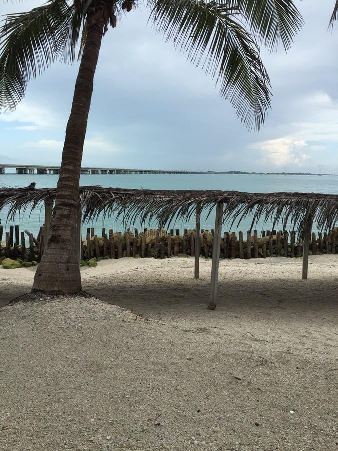 Пляж в острове Ciudad del Кармене стоковое изображение