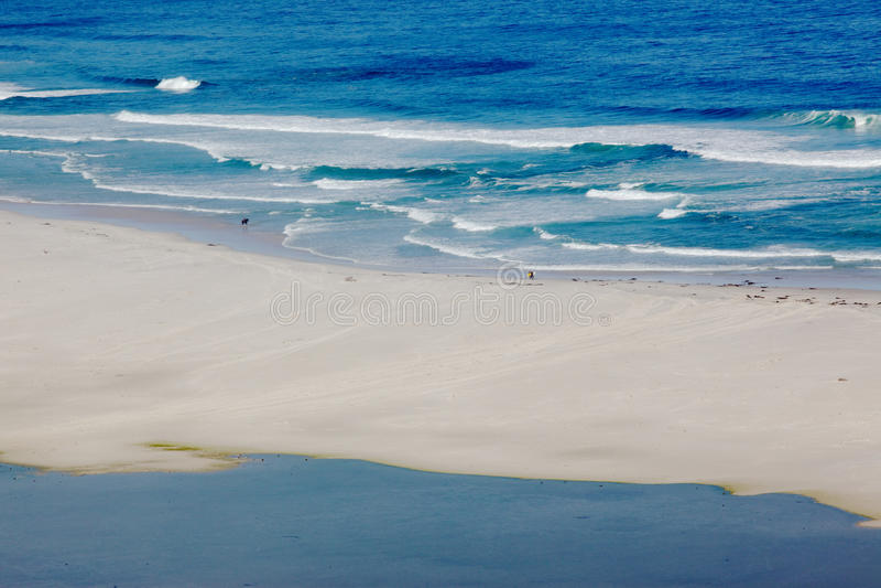 пляж длиной стоковое фото
