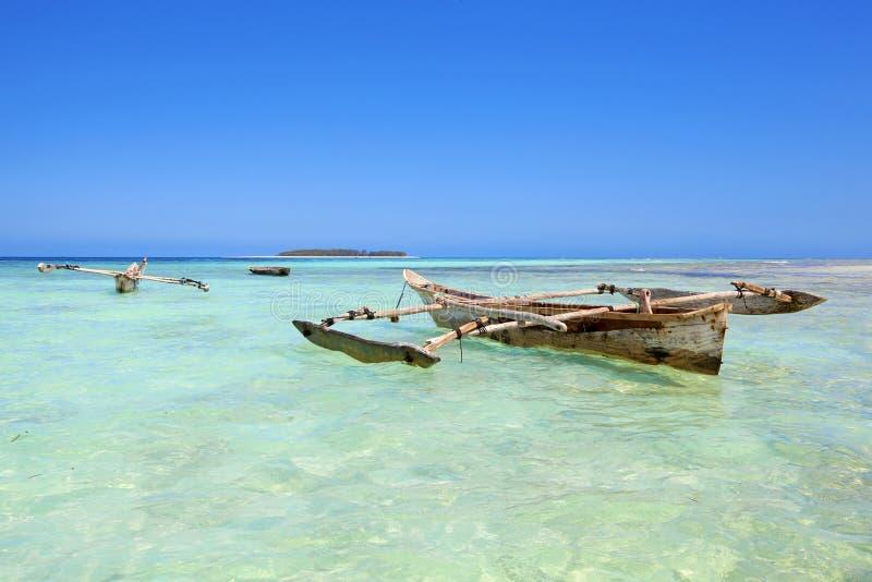 Пляж Занзибар стоковое фото