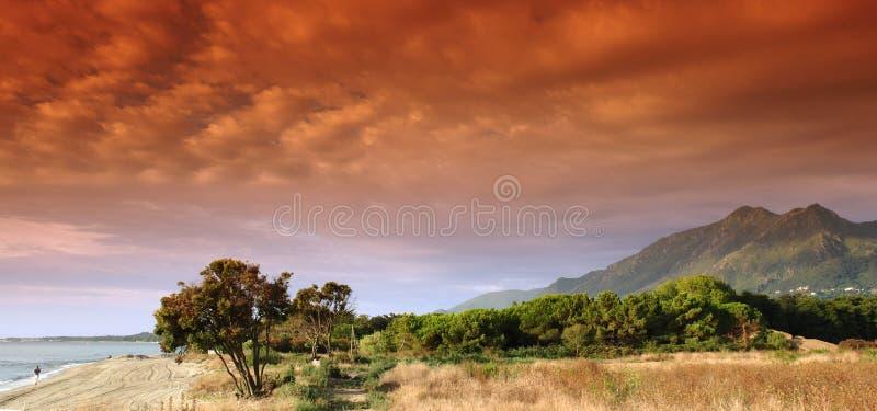 пляж Корсика стоковая фотография